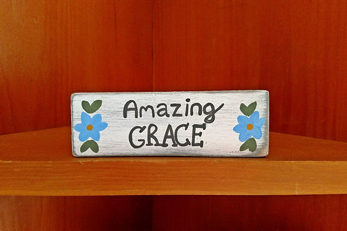 Wood Scripture Sign, Wood Signs, Amazing Grace, Amazing Grace Wood Sign, Hymn Signs, Christian Home Decor, Christian Signs