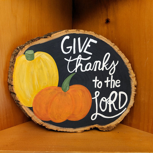 Fall Decor, Fall Signs, Autumn Decor, Autumn Signs, Wood Signs Fall, Thanksgiving Decor, Pumpkin Signs, Pumpkins, Give Thanks