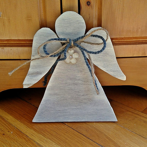 Wood Angels, Guardian Angel Decor, Christmas Angel, Angel Lover Gift, Angel Home Decor, Handmade Angel