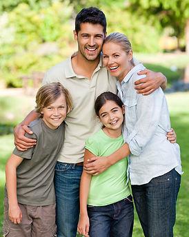 Happy Family Portrait - Family Photography in Dubai