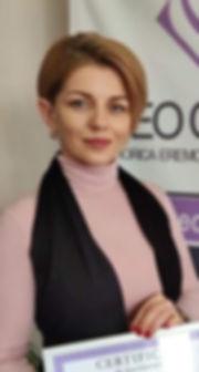 """Cristina Manole, CEO """"CB Studio Estetica & Frumusete"""", or. Râșcani"""