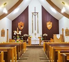 Inside Calvary Lutheran Church