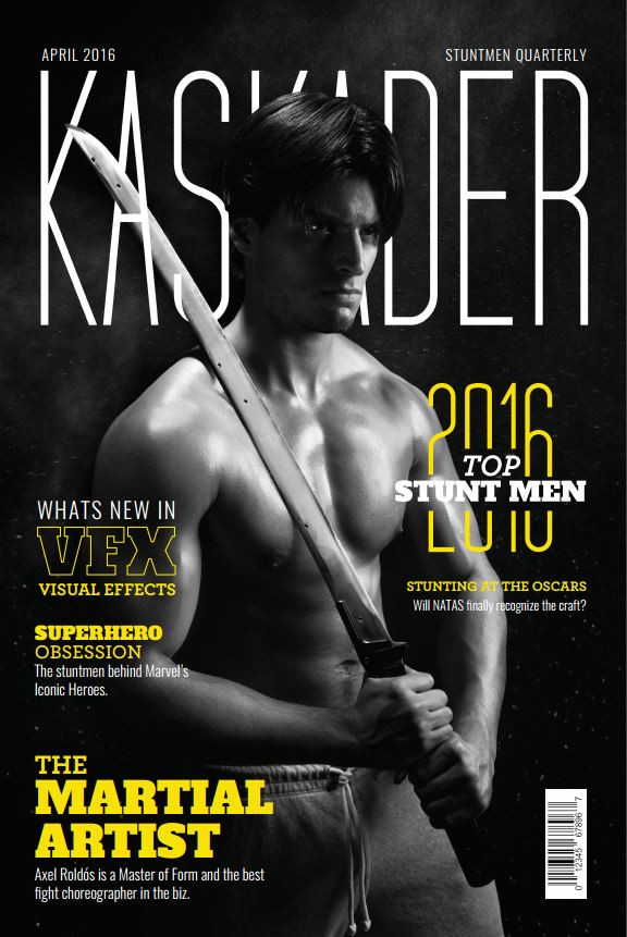 Kaskader Magazine Mock-up