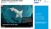"""The life aquatic"" published on CNN.com"