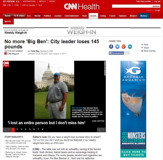 Featured Article on CNN.com - Big Ben