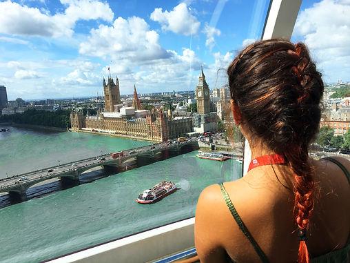 english language student in london