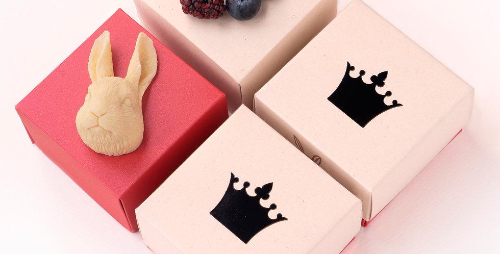 conejo - choc blanco
