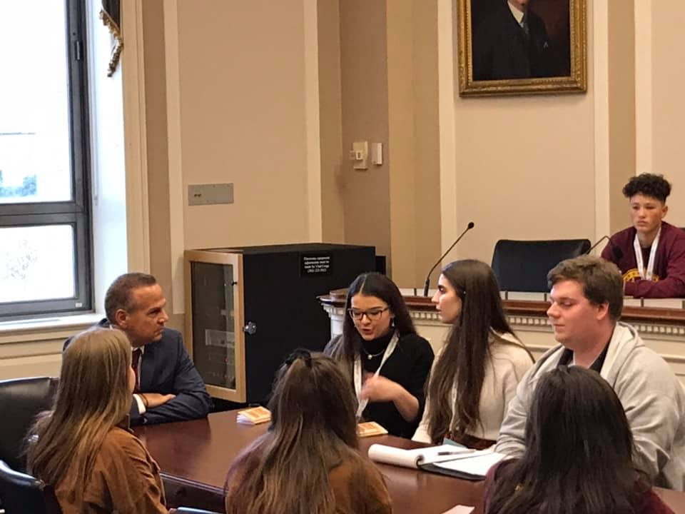 BPC Youth Meeting w/ Rep. Cicilline