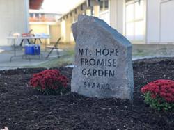 Mt. Hope STAAND Promise Garden