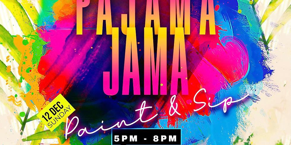 Pajama Jama Paint & Sip