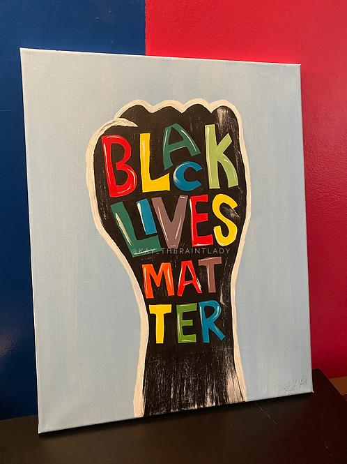 BLM Fist Paint Kit