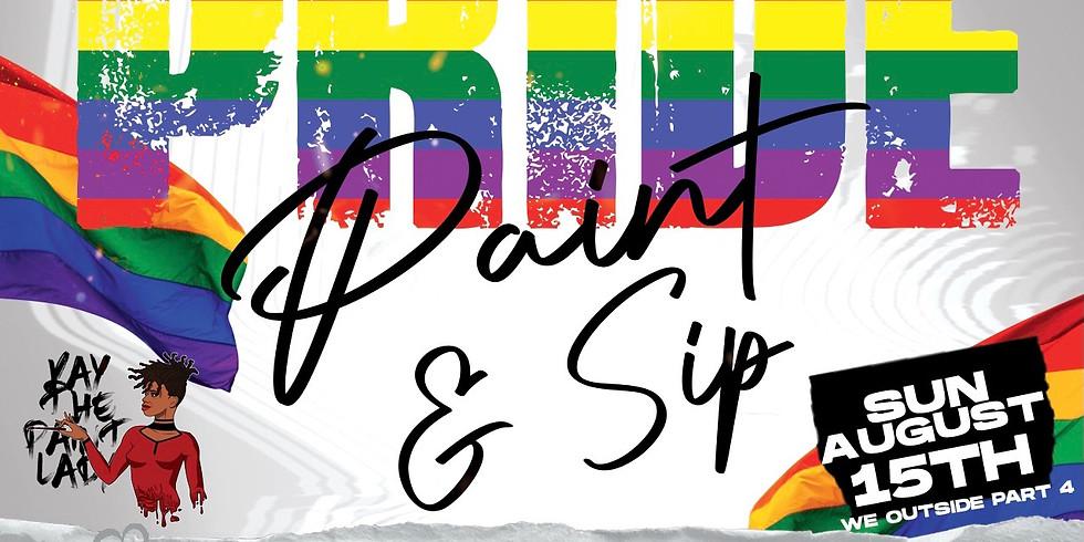 Pride Paint & Sip