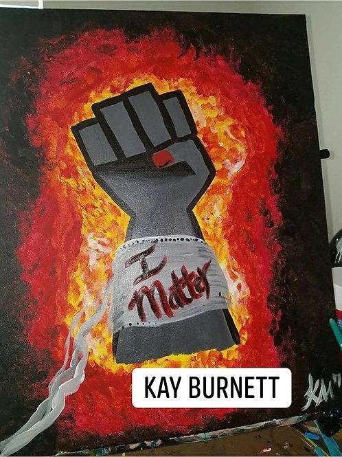 I Matter Fist Paint Kit