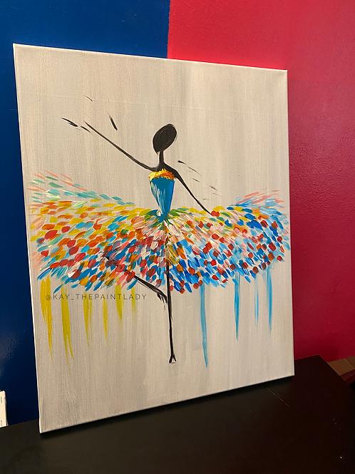Ballerina Paint Kit