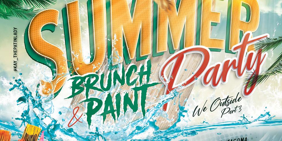 Summer Brunch & Paint Party