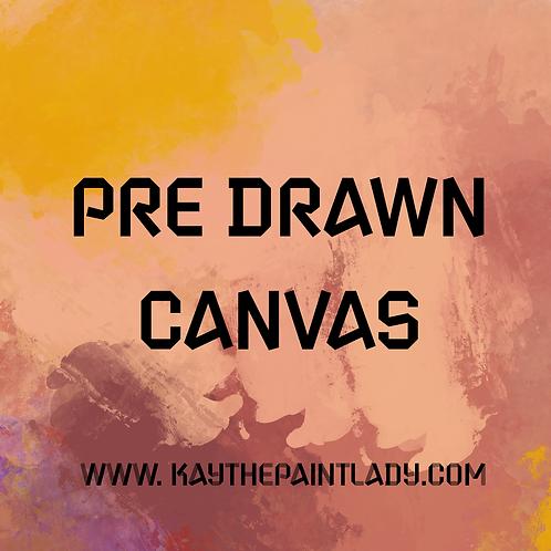 PreDrawn Canvases