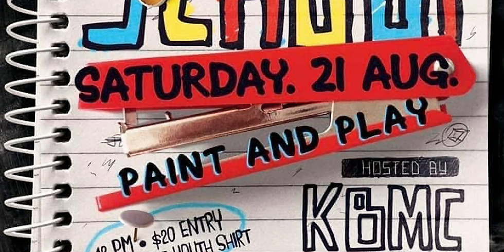 Back to School Paint & Play