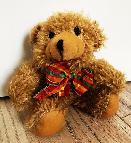 Plush Kwéyòl Bear