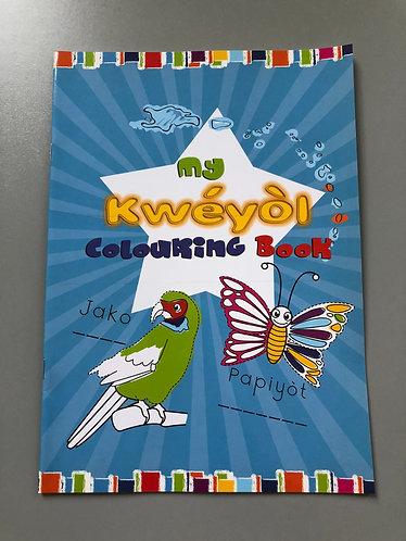 My Kwéyòl Colouring Book