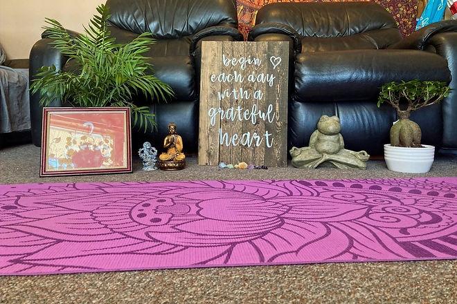 My yoga space, virtual yoga studio
