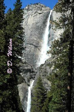 Upper & Lower Yosemite Falls, Ca