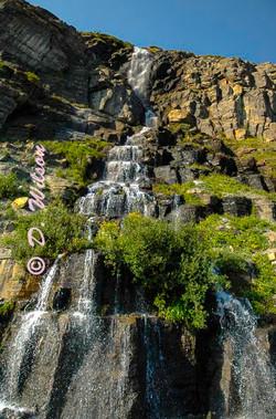 Weeping Wall-Glacier Nat'l Park, Mt