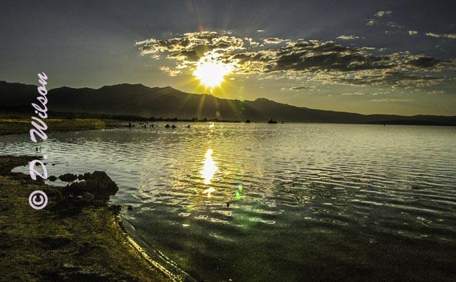Sunset Mono Lake - Lee Vining, Ca