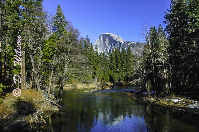 Half Dome Yosemite, Ca