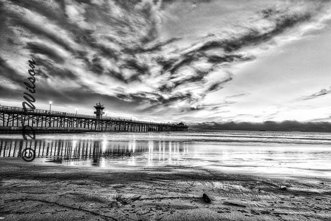 Seal Beach Pier, Seal Beach, Ca (HDR