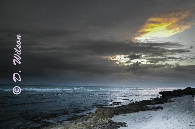 Sunset Over Oahu, HI