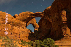 Double Arch - Arches Nat'l Park, Ut