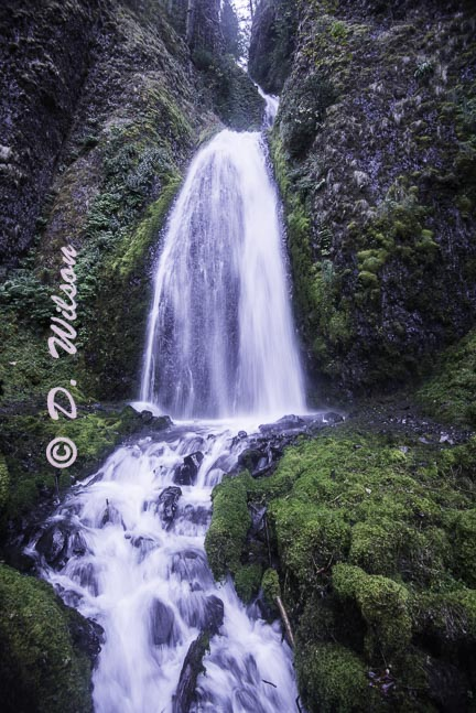 Bridal Falls 2, Or