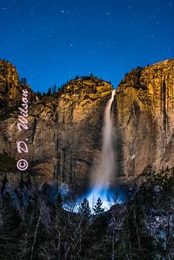 Upper Yosemite Falls at 1