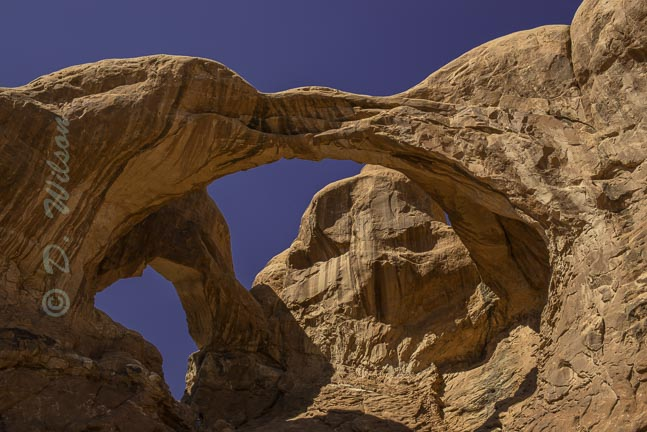 Double Arch - Arches Nat'l Park, Ut