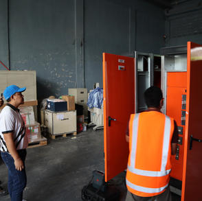 Main Distribution Panel for the New Line 5 of SR1 in CCBPI – Sta. Rosa Plant