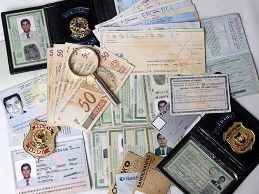 CARTEIRA DE IDENTIDADE / REGISTRO DE IDENTIDADE ( Porta de entrada da fraude)