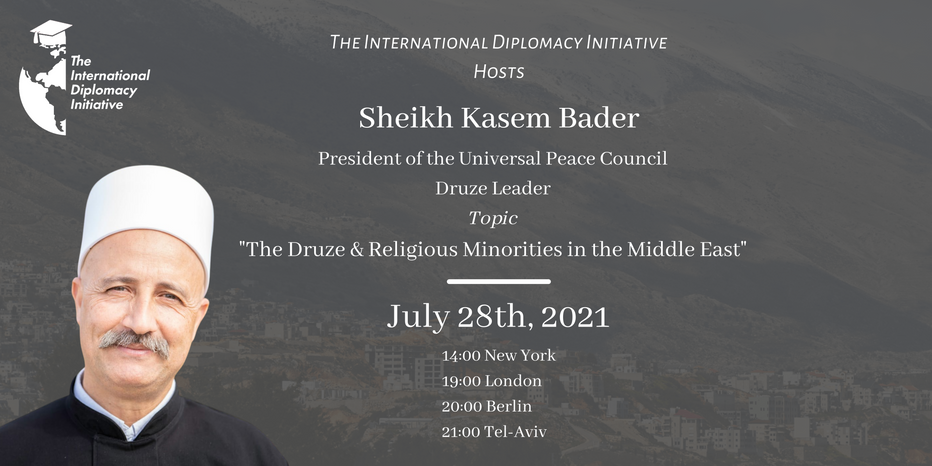 The International Diplomacy Initiative July Event