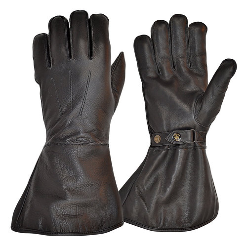 Fleece Lined Gauntlet - Black