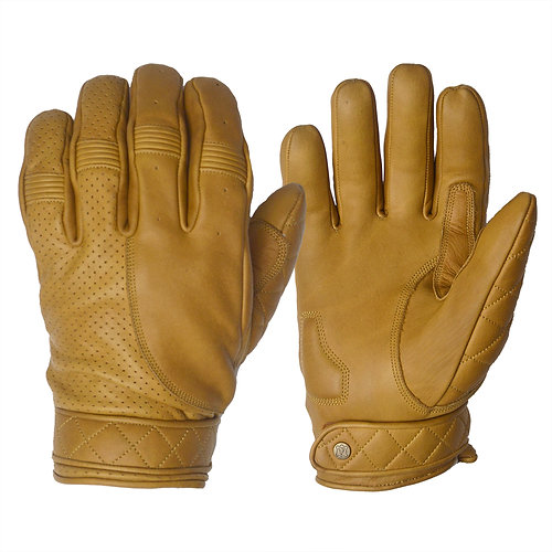 Goldtop England Short Bobber Gloves Motorradhandschuhe