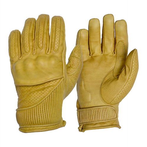The Silk Lined Viceroy Gloves - Waxed Tan