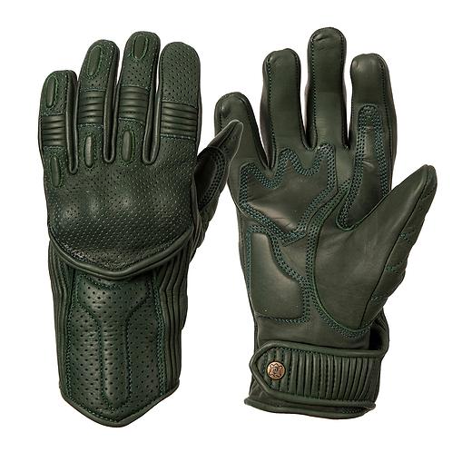 Ladies Silk Lined Predator Gloves - Racing Green