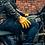 Thumbnail: Short Cuff Bobber Gloves - Waxed Tan