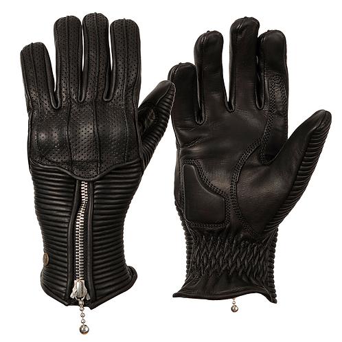 Ladies Silk Lined Raptor Gloves - Black