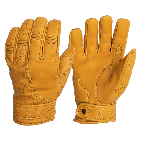 Short Cuff Bobber Gloves - Sunburst Gold