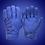 Thumbnail: Short Cuff Bobber Gloves - Electric Blue