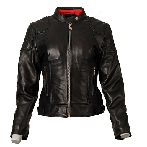 Ladies '76 Cafe Racer Jacket - Black