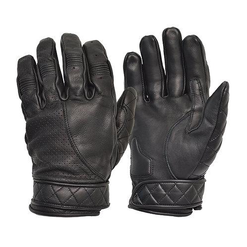 Short Cuff Bobber Gloves - Black