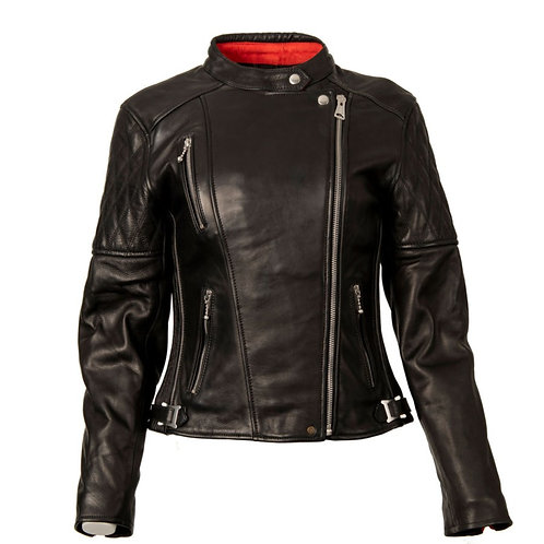 Ladies Bobber Jacket - Black