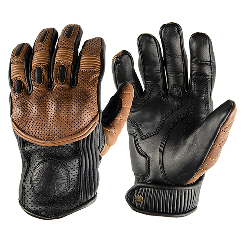 The Silk Lined Predator Gloves - Return of the Cafe Racers x Goldtop