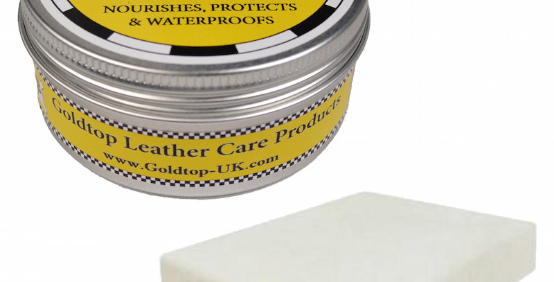 150ml Goldtop Ducks Wax Leather Water Repellant Balm